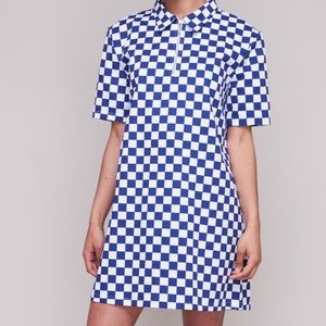 The ragged priest checkered dress